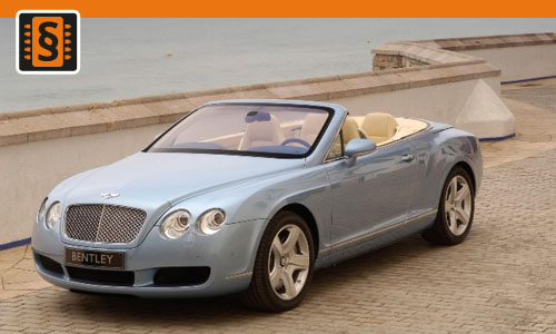 Chiptuning Bentley Continental GTC 6.0 W12 BiTurbo 463kw (630hp)