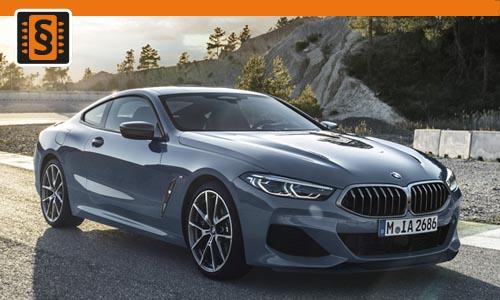 Chiptuning BMW 8 4.4 (M compet.) 460kw (625hp)