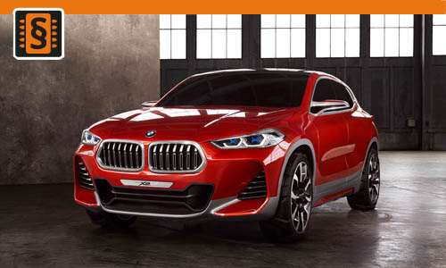 Chiptuning BMW X2 18i 103kw (140hp)