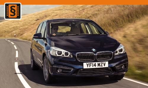 Chiptuning BMW 214d  70kw (95hp)