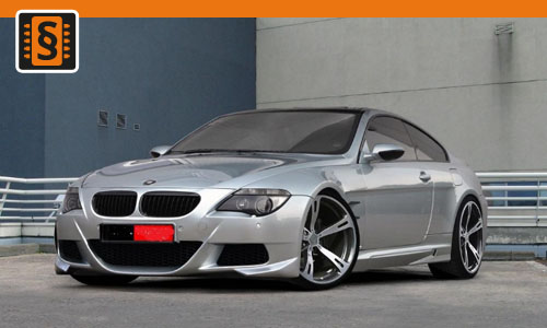 Chiptuning BMW M6 373kw (507hp)