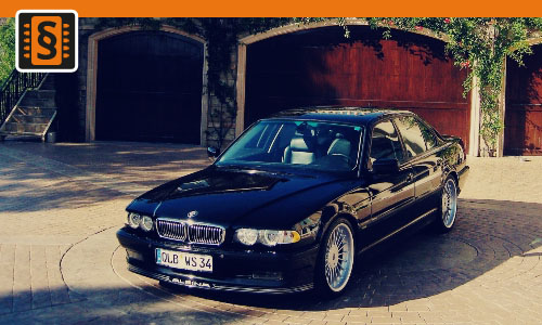 Chiptuning BMW 740D 180kw (245hp)
