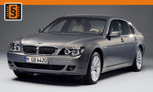 Chiptuning BMW 745D 221kw (300hp)