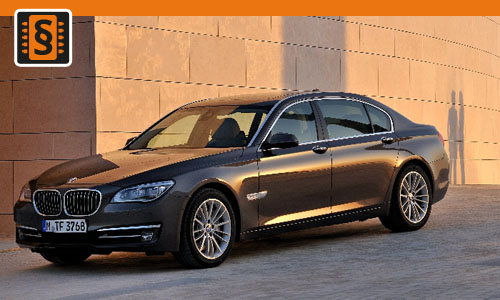 Chiptuning BMW 750d  280kw (381hp)
