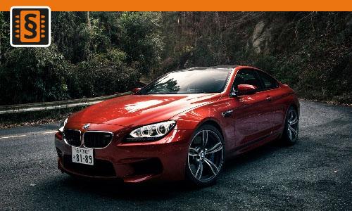 Chiptuning BMW M6 M6  412kw (560hp)
