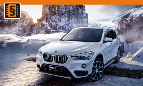 Chiptuning BMW X1 20i  141kw (192hp)
