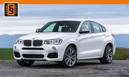 Chiptuning BMW X4 30d  190kw (258hp)