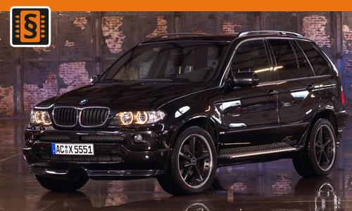Chiptuning BMW X5 3.0d  160kw (218hp)