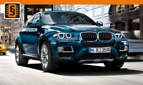 Chiptuning BMW X6 xDrive 35d 210kw (286hp)