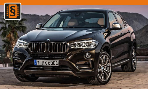 Chiptuning BMW X6M 4.4 423kw (575hp)