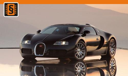 Chiptuning Bugatti Veyron EB 16.4 8.0  736kw (1001hp)