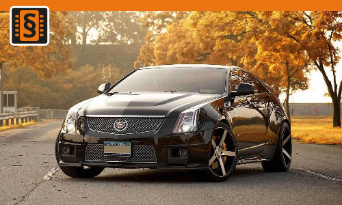Chiptuning Cadillac CTS 2.0T  200kw (272hp)