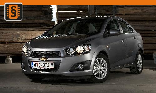 Chiptuning Chevrolet Aveo 1.3 TCDI 55kw (75hp)