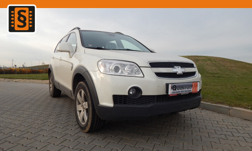 Chiptuning Chevrolet Captiva 2.2 VCDI 135kw (184hp)