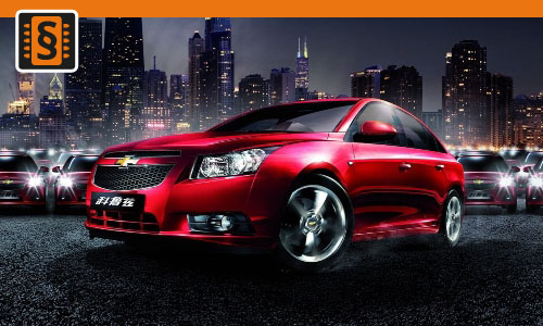 Chiptuning Chevrolet Cruze 1.7 VCDI 96kw (130hp)
