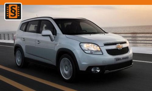 Chiptuning Chevrolet Orlando 2.0 VCDI 120kw (163hp)
