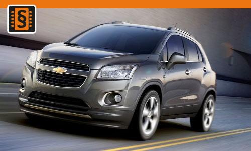 Chiptuning Chevrolet Trax 1.7 CDTi 96kw (130hp)