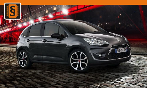 Chiptuning Citroen C3 / Picasso 1.6 HDI 66kw (90hp)