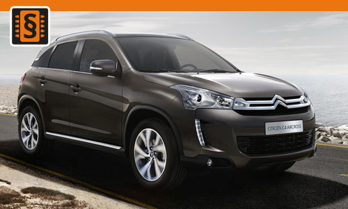 Chiptuning Citroen C4 Aircross 1.6 HDI 81kw (110hp)