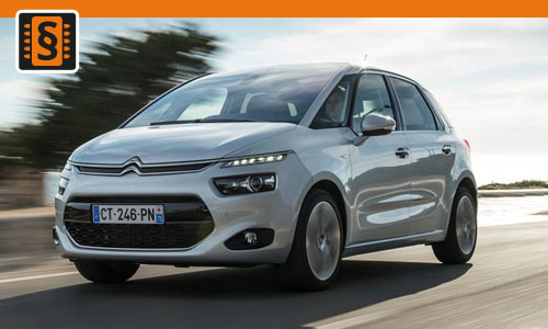 Chiptuning Citroen C4 Picasso 1.6 HDI 85kw (115hp)