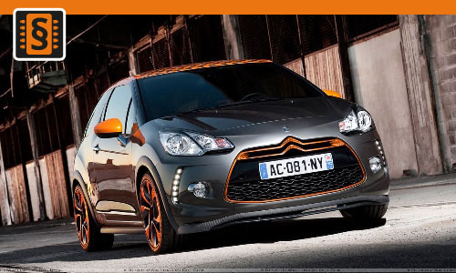 Chiptuning Citroen DS3 1.6 THP 149kw (202hp)