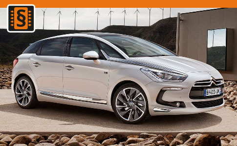 Chiptuning Citroen DS5 2.0 HDI 120kw (163hp)