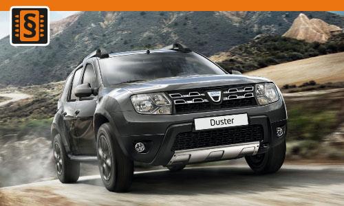 Chiptuning Dacia Duster 1.5 dCi 80kw (109hp)