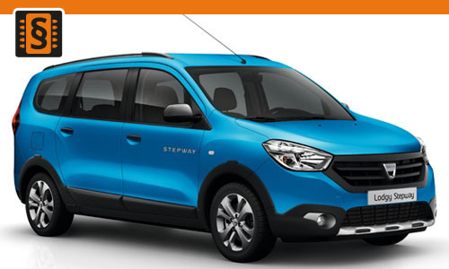 Chiptuning Dacia Lodgy 1.2 TCe 85kw (115hp)