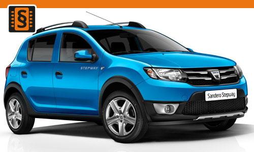 Chiptuning Dacia Sandero 0.9 TCe 66kw (90hp)