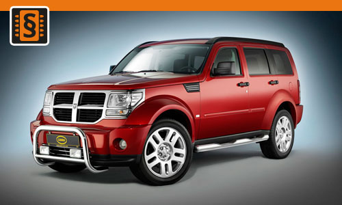 Chiptuning Dodge Nitro 2.8 CRD 130kw (177hp)