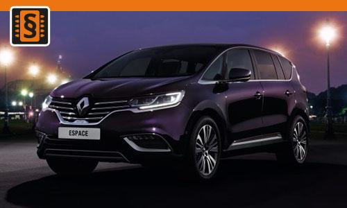 Chiptuning Renault Espace 2.0 Blue dCi 118kw (160hp)