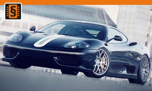 Chiptuning Ferrari 360 Modena / Spider  294kw (400hp)