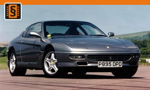 Chiptuning Ferrari 456 4.9 V12 315kw (428hp)