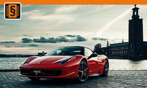 Chiptuning Ferrari 458 Italia 4.5 V8 419kw (570hp)