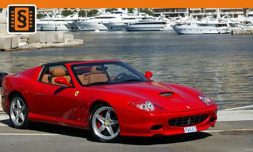 Chiptuning Ferrari 575M Maranello 5.7 V12 379kw (515hp)