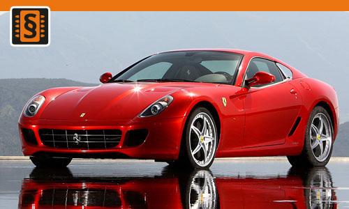Chiptuning Ferrari 599 GTB Fiorano 6.0 V12 456kw (620hp)