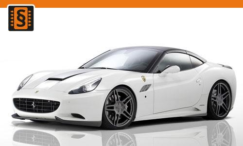 Chiptuning Ferrari California 4.3 V8 338kw (460hp)