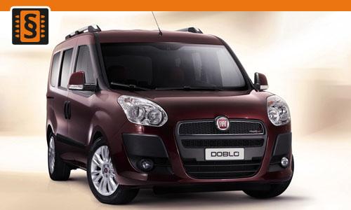 Chiptuning Fiat Doblo 1.3 JTD 51kw (70hp)