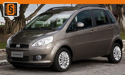 Chiptuning Fiat Idea 1.9 JTDM 74kw (100hp)