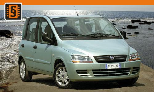 Chiptuning Fiat Multipla 1.9 JTD 85kw (115hp)