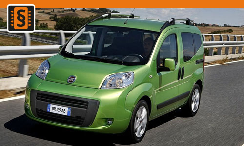 Chiptuning Fiat Qubo 1.4 HDI 51kw (70hp)