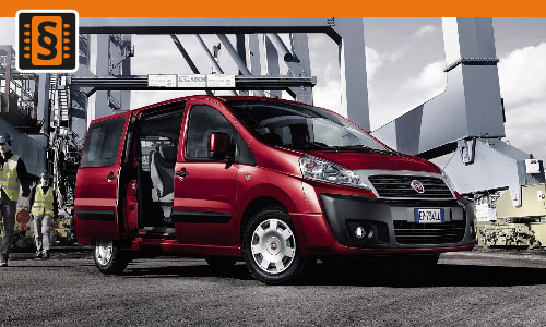 Chiptuning Fiat Scudo 1.6 JTDM 66kw (90hp)