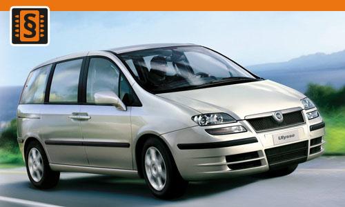 Chiptuning Fiat Ulysse 2.0 JTD 100kw (136hp)