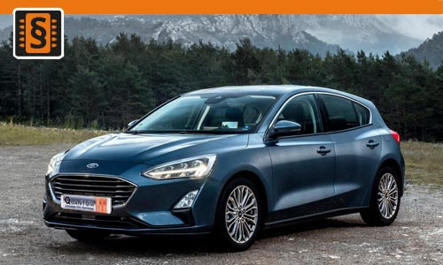 Chiptuning Ford Focus 1.0T EcoBoost 92kw (125hp)