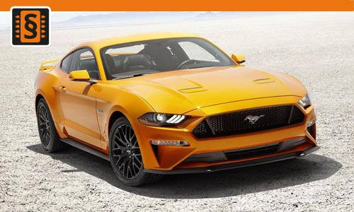 Chiptuning Ford Mustang 5.0 V8 GT 331kw (450hp)