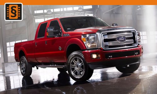 Chiptuning Ford F-250 6.7 Scorpion 324kw (440hp)