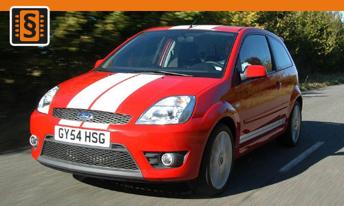 Chiptuning Ford Fiesta 1.6 TDCi 66kw (90hp)