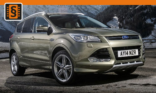 Chiptuning Ford Kuga 1.6 TDCi 70kw (95hp)