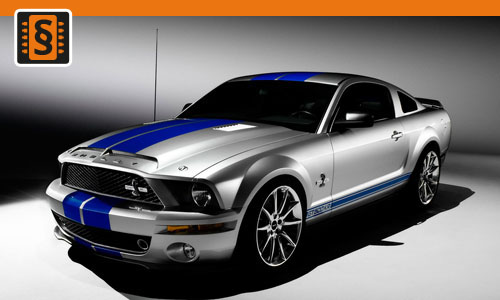 Chiptuning Ford Mustang 5.0 V8 GT 307kw (418hp)