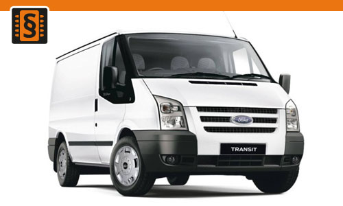 Chiptuning Ford Transit 2.2 TDCi 103kw (140hp)